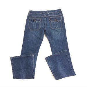 Vigoss Women's Blue Wide Leg Jeans 4